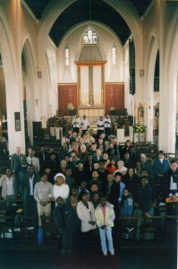 Congregation on Easter Day