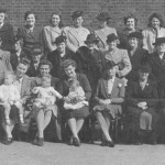 SUNDAY SCHOOL STAFF IN THE 1950s